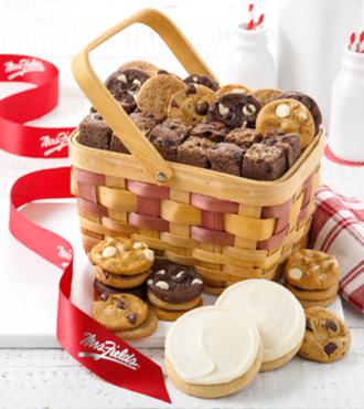 http://www.FlowersFast.com - Small Sweet Sampler Basket – FedEx