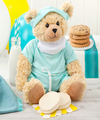 Image of Standard version for Mrs. Fields Get Well Scrubs Bear - FedEx