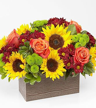 Ftd Fall Harvest Cornucopia By Better Homes And Gardens