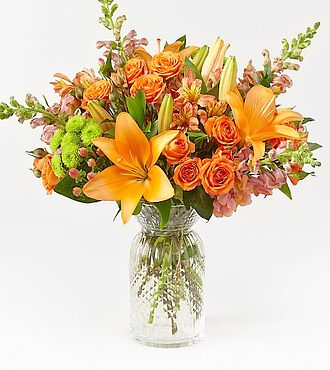 Warm Amber Bouquet - DELUXE