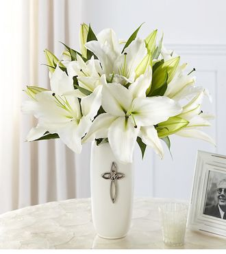 FTD Faithful Blessings Bouquet - DELUXE