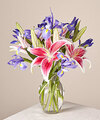 Image of Standard version for Belle of the Ball Bouquet with Vase - FedEx