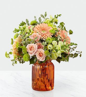 FTD Peachy Keen Bouquet by Better Homes and Gardens - DELUXE