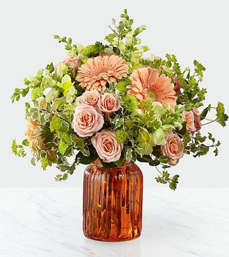 Peachy Keen Bouquet by Better Homes and Gardens - PREMIUM