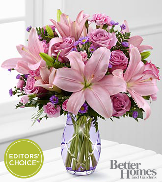 FTD Graceful Wonder Bouquet by Better Homes and Gardens - PREMIUM