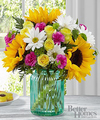 Image of Deluxe version for FTD Sunlit Meadows Bouquet by Better Homes and Gardens