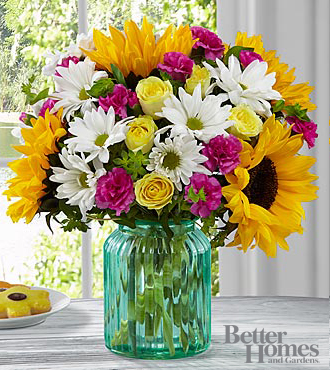 FTD Sunlit Meadows Bouquet by Better Homes and Gardens - PREMIUM