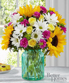 Image of Premium version for FTD Sunlit Meadows Bouquet by Better Homes and Gardens