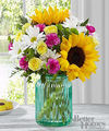 FTD Sunlit Meadows Bouquet by Better Homes