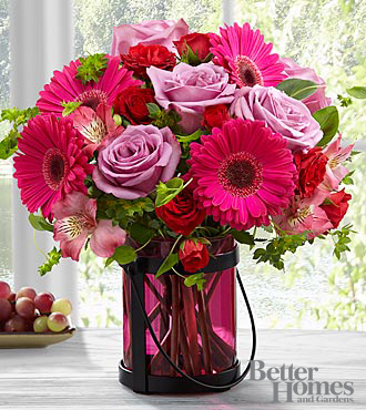 FTD Pink Exuberance Bouquet by Better Homes and Gardens - PREMIUM