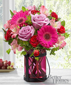 Image of Standard version for FTD Pink Exuberance Bouquet by Better Homes and Gardens