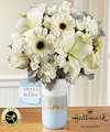 Image of Deluxe version for FTD Sweet Baby Boy Bouquet by Hallmark
