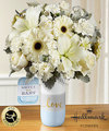 Image of Premium version for FTD Sweet Baby Boy Bouquet by Hallmark