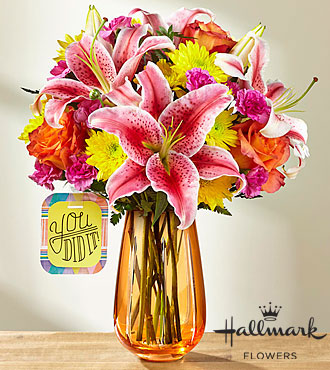 FTD You Did It Bouquet by Hallmark - DELUXE