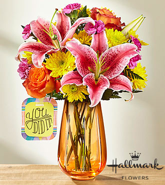 FTD You Did It Bouquet by Hallmark