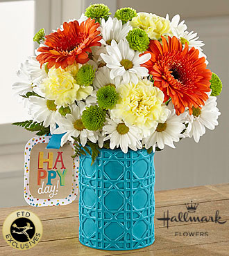FTD Happy Day Birthday Bouquet by Hallmark