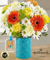 Image of Premium version for FTD Happy Day Birthday Bouquet by Hallmark