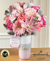 Image of Deluxe version for FTD Sweet Baby Girl Bouquet by Hallmark