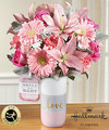 Image of Premium version for FTD Sweet Baby Girl Bouquet by Hallmark