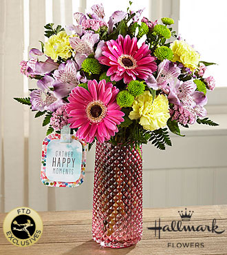 FTD Happy Moments Bouquet by Hallmark - HMJ