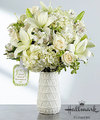 Image of Deluxe version for FTD Loved Honored and Remembered Bouquet by Hallmark
