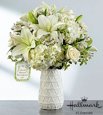 FTD Loved Honored and Remembered Bouquet by Hallmark