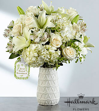 FTD Loved Honored and Remembered Bouquet by Hallmark - PREMIUM