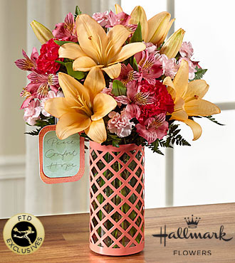 FTD Peace Comfort and Hope Bouquet by Hallmark