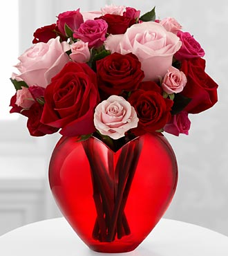 My Heart to Yours Rose Bouquet by FTD - DELUXE