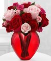 Image of Deluxe version for My Heart to Yours Rose Bouquet by FTD