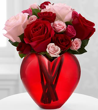 My Heart to Yours Rose Bouquet by FTD
