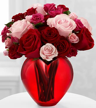 My Heart to Yours Rose Bouquet by FTD - PREMIUM