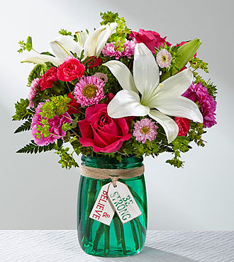 FTD Be Strong and Believe Bouquet - IN1