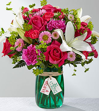 FTD Be Strong & Believe Bouquet - PREMIUM
