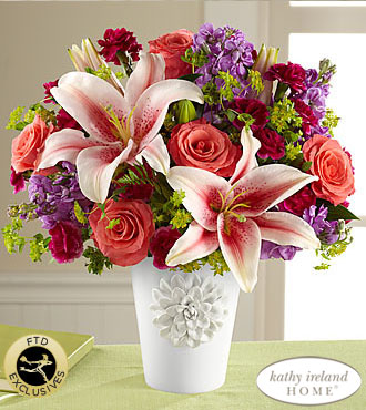 FTD California Chic Bouquet for Kathy Ireland Home - DELUXE