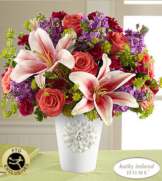 FTD California Chic Bouquet for Kathy Ireland Home - PREMIUM
