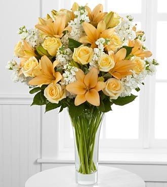 Admiration Luxury Rose and Lily Bouquet - 36 Stems