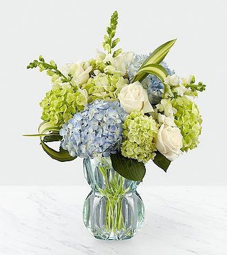Superior Sights Luxury Bouquet - Blue and White - LX151