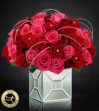 FTD Blushing Extravagance Luxury Bouquet by Kalla