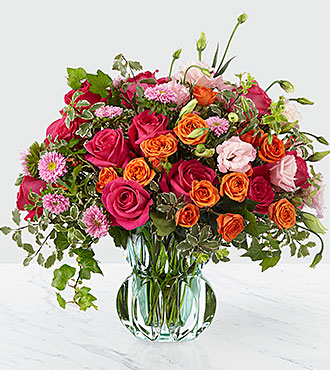FTD Only The Best Luxury Bouquet- VASE INCLUDED - LX186S
