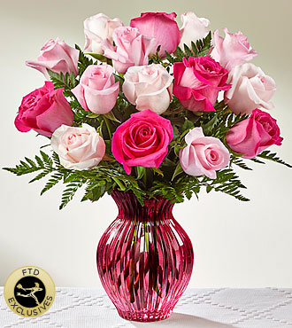 FTD Happy Spring Mixed Rose Bouquet - DELUXE