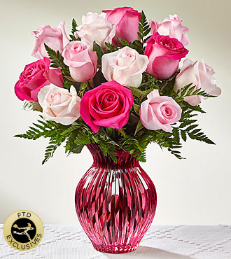 FTD Happy Spring Mixed Rose Bouquet