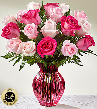 FTD Happy Spring Mixed Rose Bouquet - PREMIUM