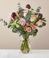 Image of Standard version for Rose Mixed Bouquet with Vase - FedEx