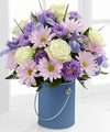 Image of Deluxe version for Color Your Day Tranquility Bouquet by FTD