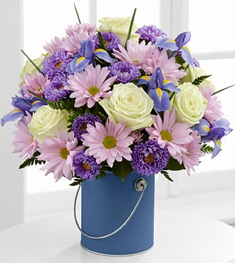 Color Your Day Tranquility Bouquet by FTD - PREMIUM