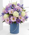 Image of Premium version for Color Your Day Tranquility Bouquet by FTD