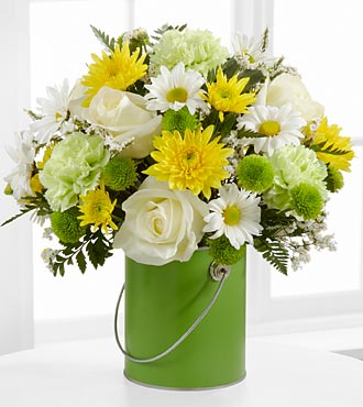 Color Your Day With Joy Bouquet by FTD - DELUXE