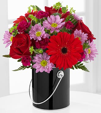 FTD Color Your Day with Intrigue Bouquet