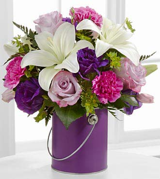Color Your Day With Beauty Bouquet by FTD - DELUXE